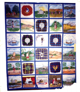 Full view of the entire quilt
