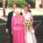 Kevin and Bev with her grandmother